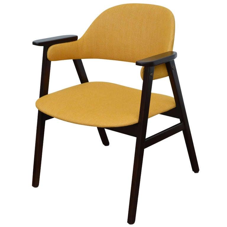 Mid Century Modern Teak Arm Chair For Sale At 1stdibs