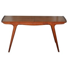 Danish Mid Century Aerodynamic Expanding Coffee Table