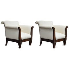 Swedish Art Moderne Settee Sofa At 1stdibs