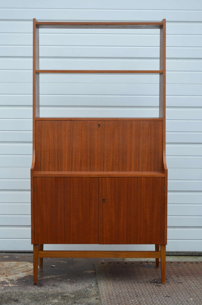 bookcase frame black mahogany cubicles brown varnished corner wolid computer shaped small l iron desk hutch has wood storage with which working