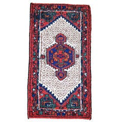 Semi-Antique Persian Kirman Rug
