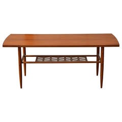 Swedish Mid-Century Teak Coffee Table