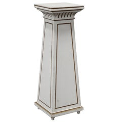 Antique Swedish Empire Revival Tapered Pedestal