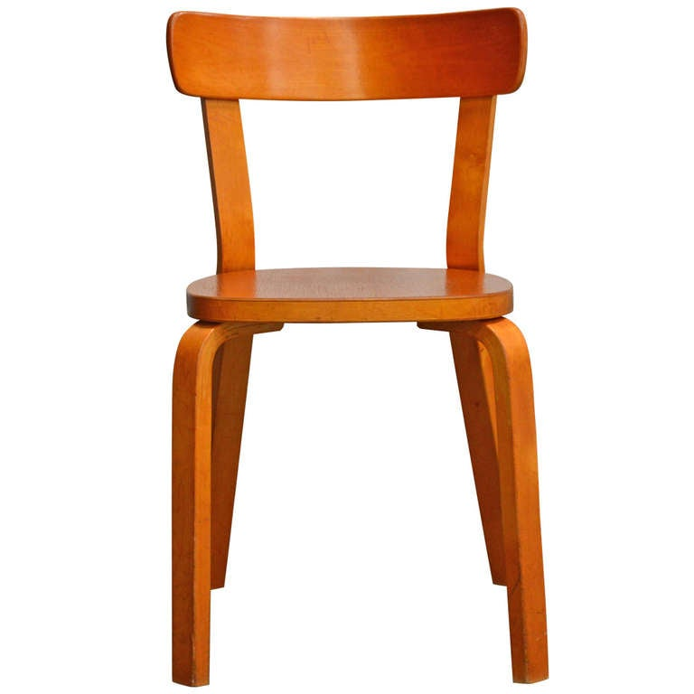 Alvar aalto bentwood side chair for sale at 1stdibs for Side chairs for sale