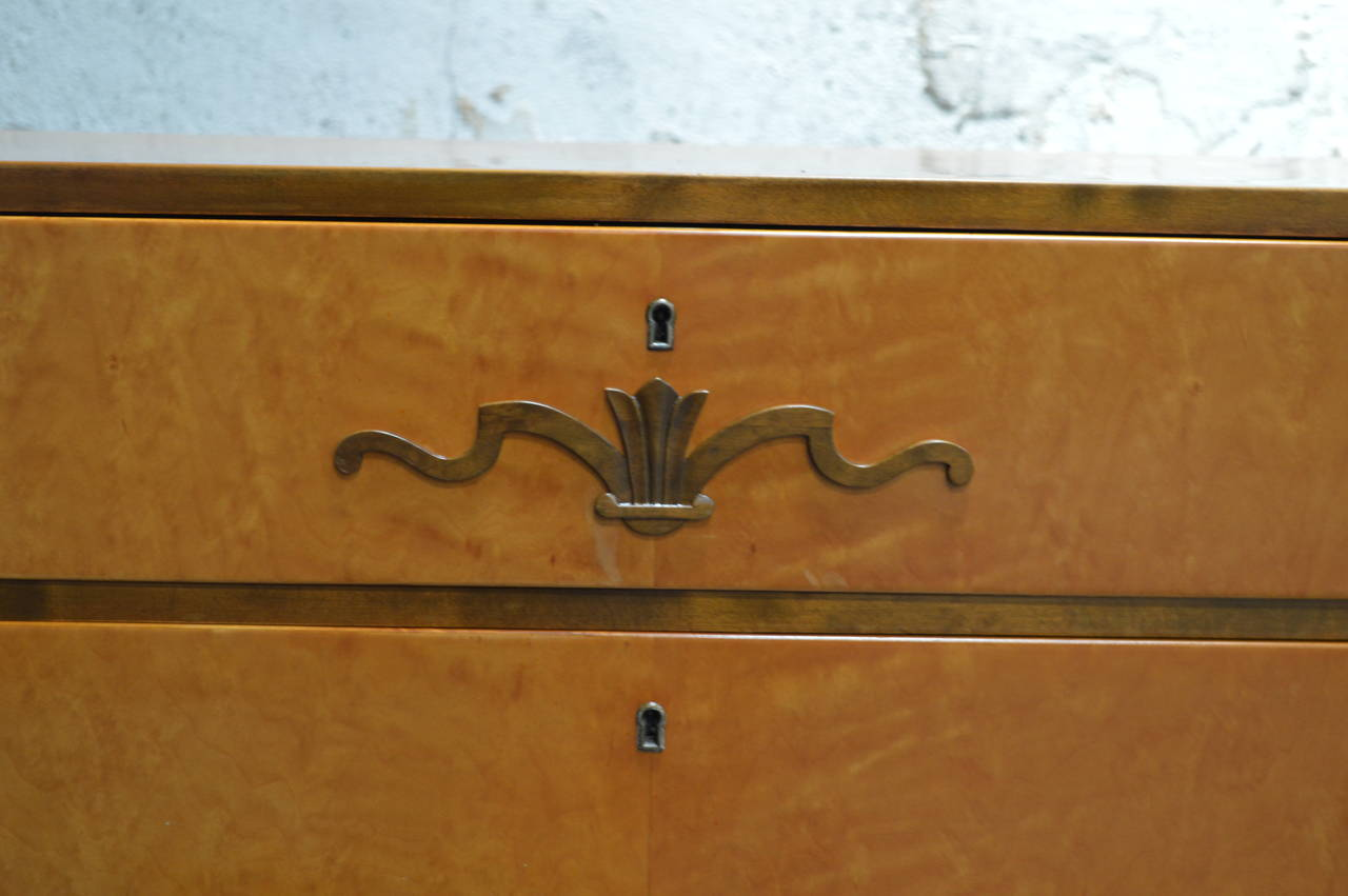 Swedish Art Deco Chest of Drawers 5