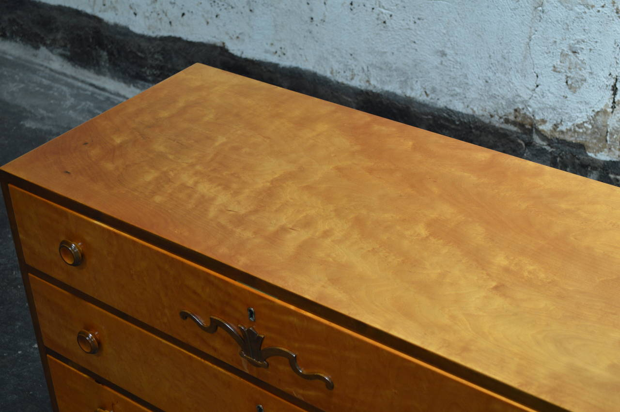 Swedish Art Deco Chest of Drawers 6