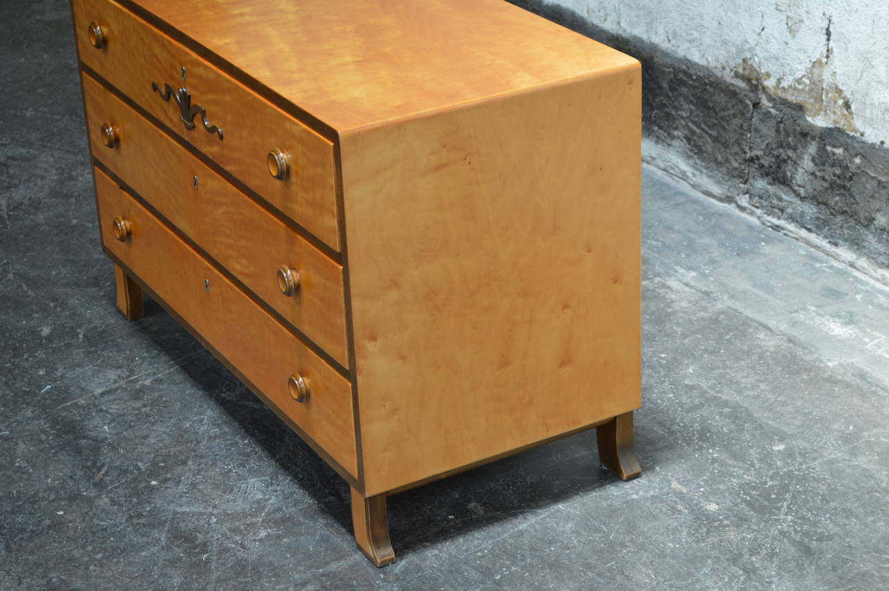 Swedish Art Deco Chest of Drawers 7