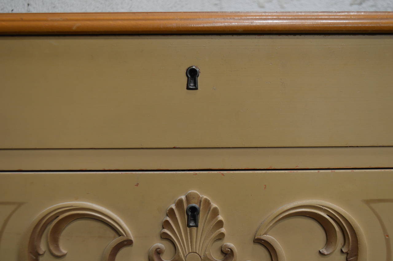 Swedish Art Deco Painted Chest of Drawers For Sale 3