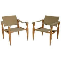 Pair of Vintage Sling Chairs