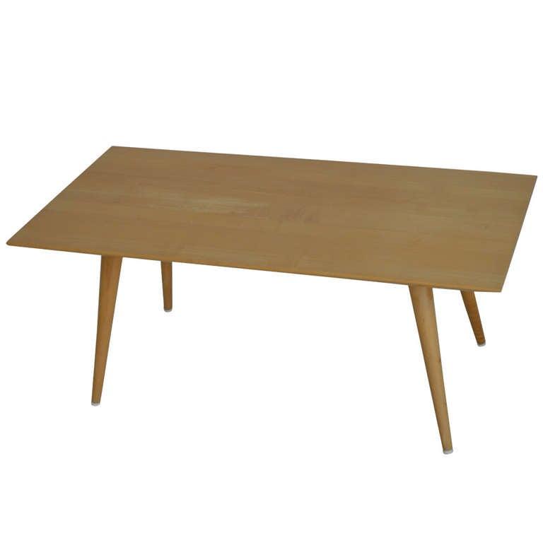 *SALE* Mid Century Modern Birch Planner Group Coffee Table