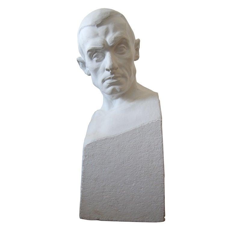 Portrait Bust of Paul Engdahl by Rafael Radberg For Sale