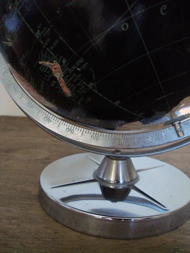 Vintage Black Sea Starlight Globe For Sale 1