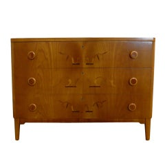 Swedish Art Moderne Intarsia Chest Of Drawers