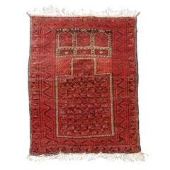 Semi-Antique Afghan Carpet