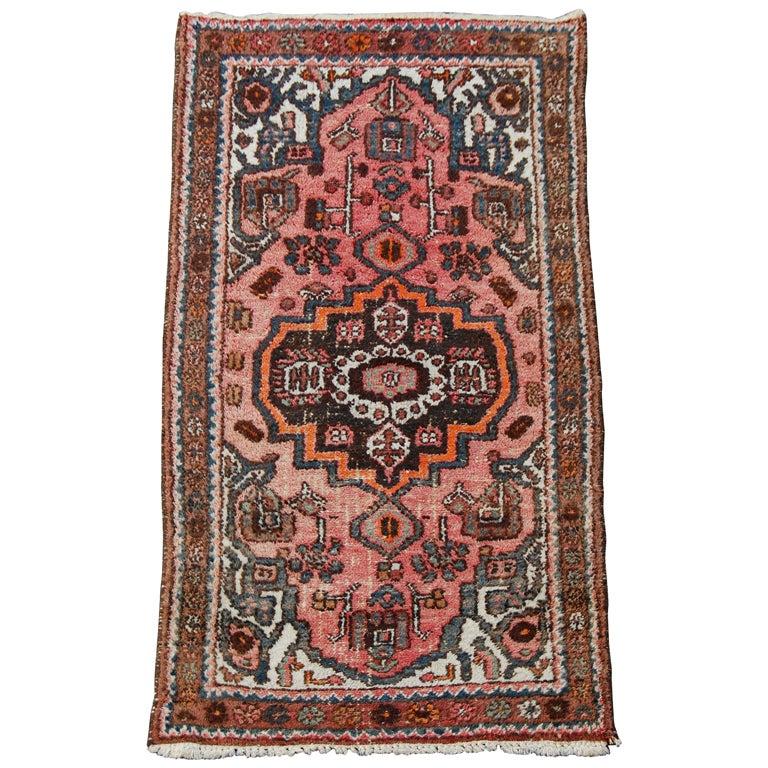 Semi Antique Persian Kirman Rug At 1stdibs