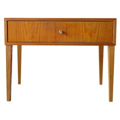 Swedish Mid-Century Teak Nightstand or End Table