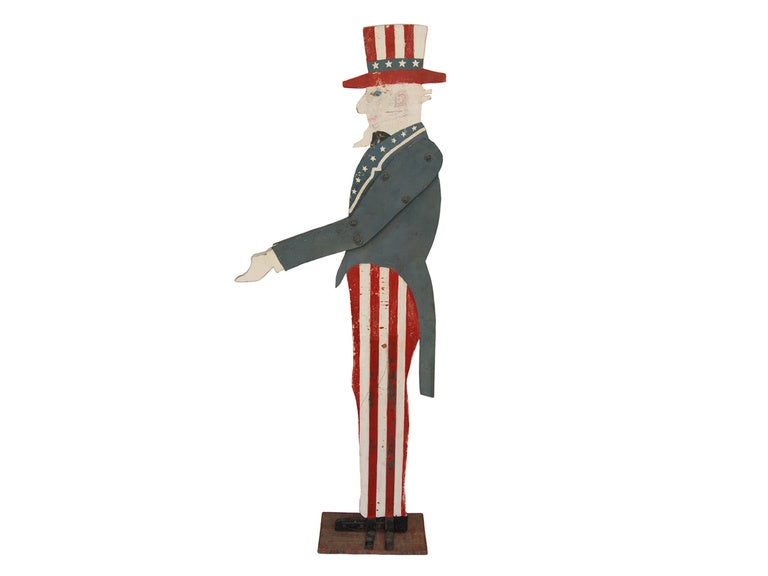 Uncle Sam Side View Uncle sam mailbox holderUncle Sam Side View