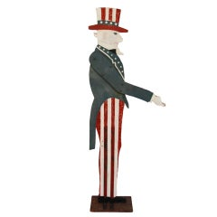 Uncle Sam Mailbox Holder