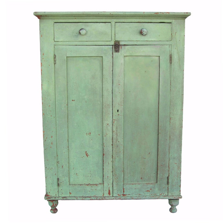 Green Jelly Cupboard At 1stdibs
