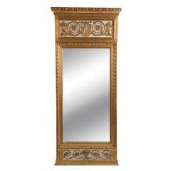 Gustavian Giltwood Mirror