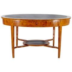 Good Swedish Karl Johan Center Table