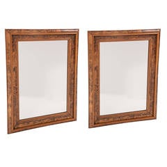 Pair of Danish Royal Household Mirrors