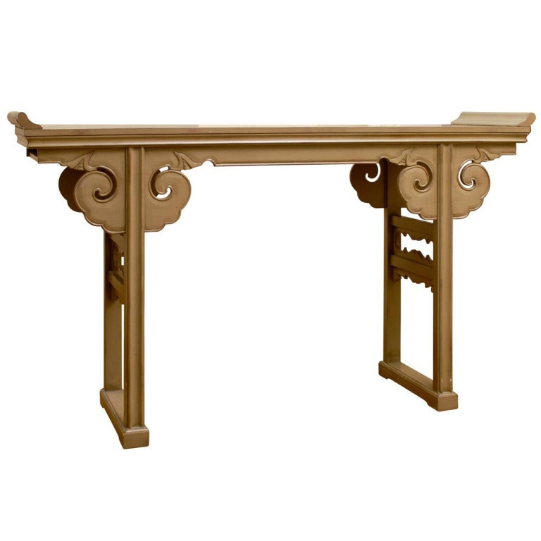 lovely vintage asian altar table console buffet at 1stdibs