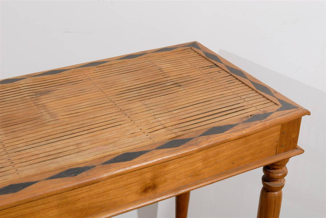 Anglo Indian Bamboo And Wood Console At 1stdibs