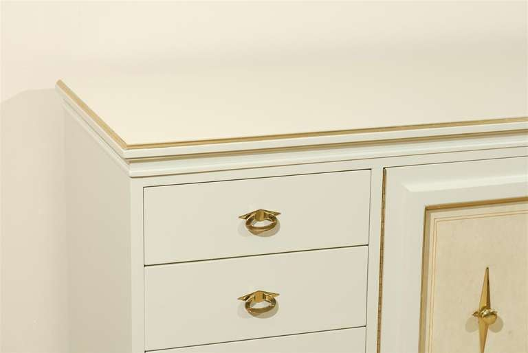 A Remarkable Chest Buffet Credenza By American Of