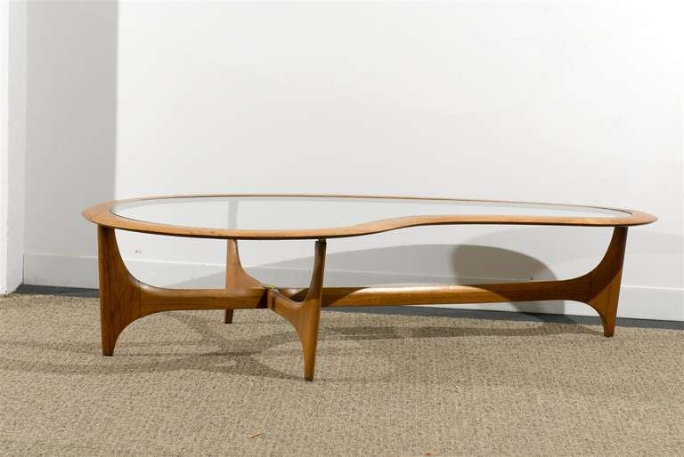 Very Chic 1950 60s Coffee Table By Lane At 1stdibs