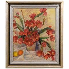 "Still Life Oil on Canvas Signed "" Klein"