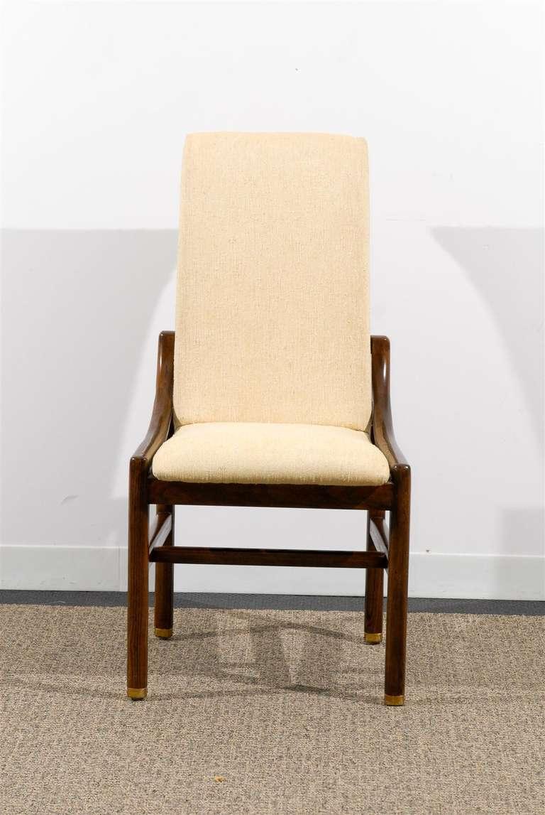 gorgeous set of ten 10 vintage henredon dining chairs