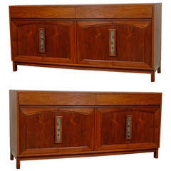 Fantastic John Keal for Brown Saltman Credenza - Pair Available