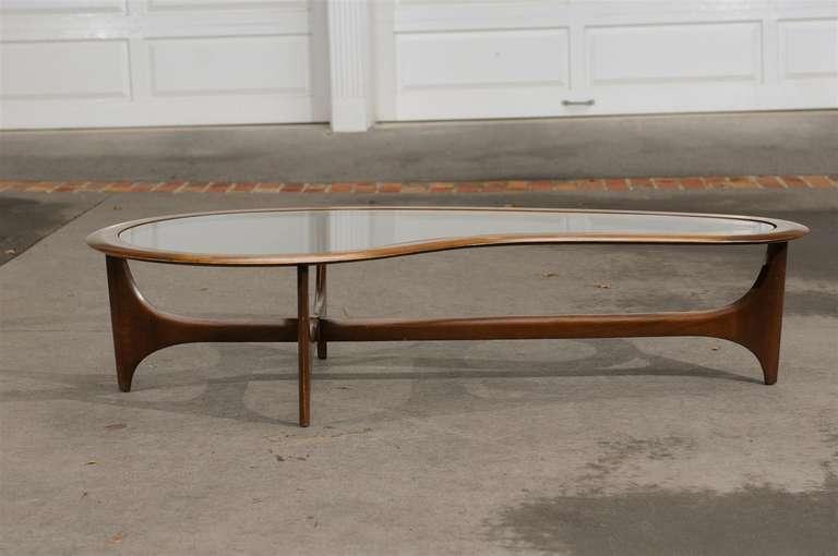 Cool Stunning Walnut Amoeba Coffee Table By Lane At 1Stdibs Beatyapartments Chair Design Images Beatyapartmentscom