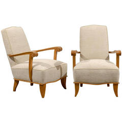 Pair of 1940s Armchairs Origin France
