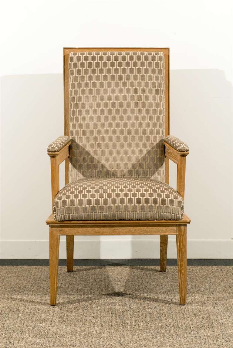 Pair of 1940s Style Armchairs For Sale 2