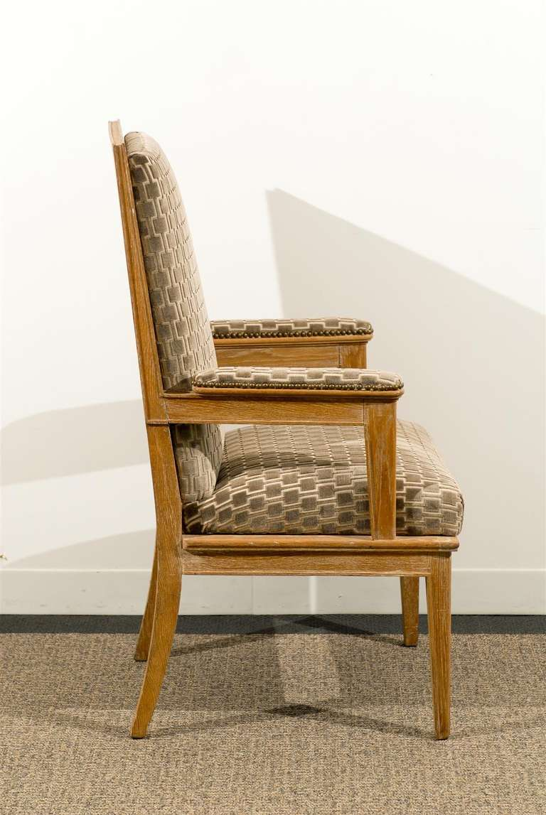 Pair of 1940s Style Armchairs For Sale 3
