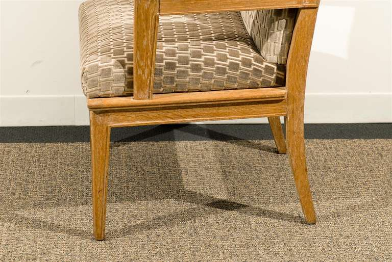 Mid-20th Century Pair of 1940s Style Armchairs For Sale