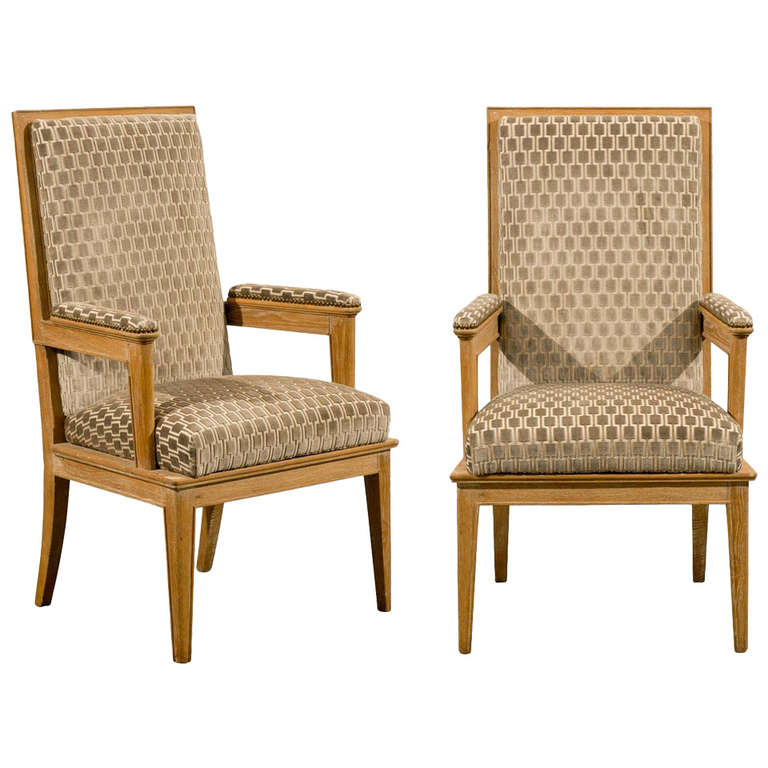 Pair of 1940s Style Armchairs