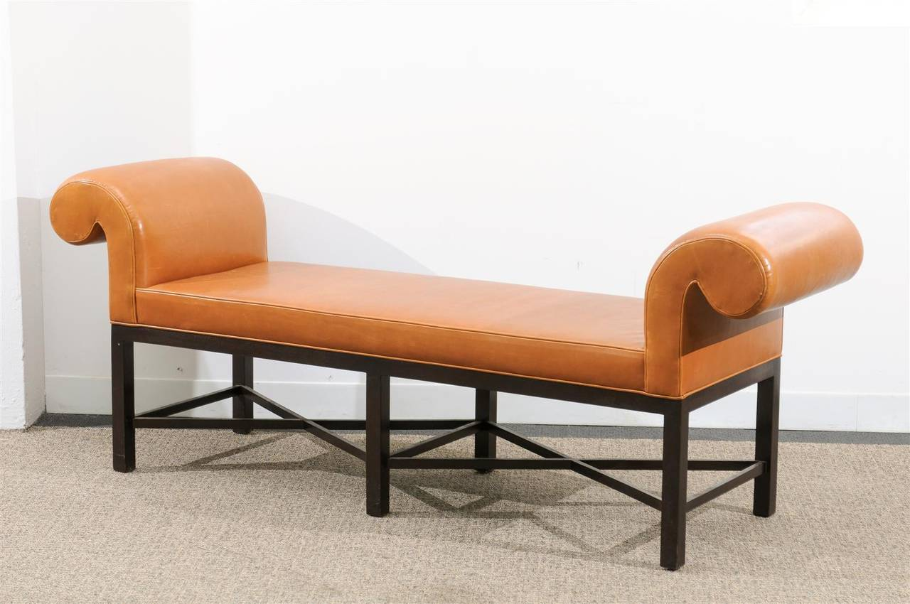 this vintage chppendale bench by baker furniture is no longer