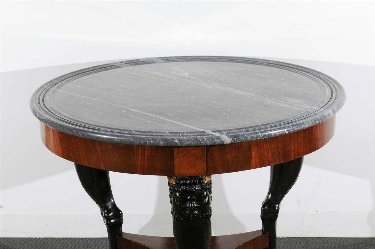 19th Century Empire Center Table For Sale 1