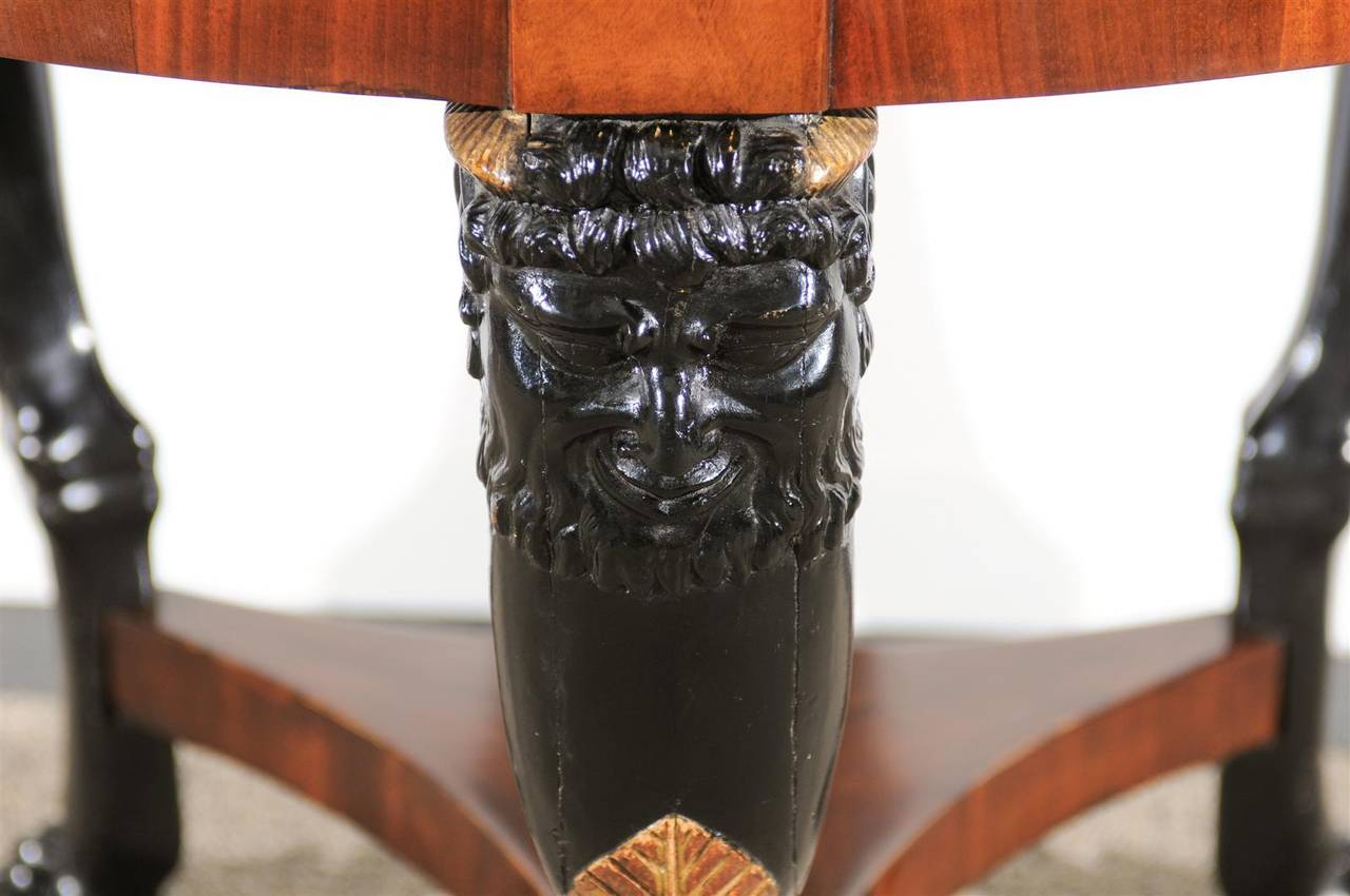Mid-19th Century 19th Century Empire Center Table For Sale