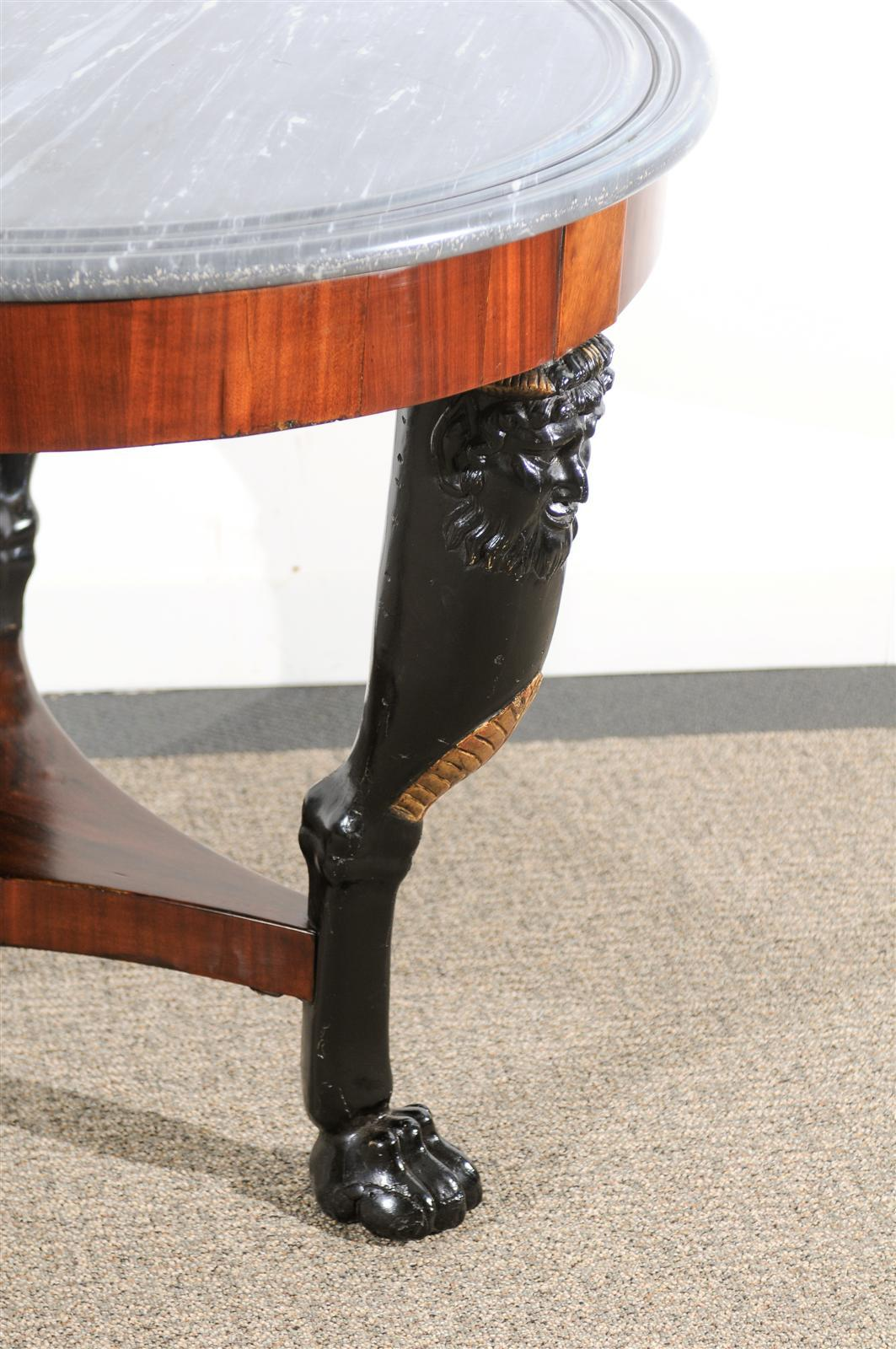 19th Century Empire Center Table For Sale 2