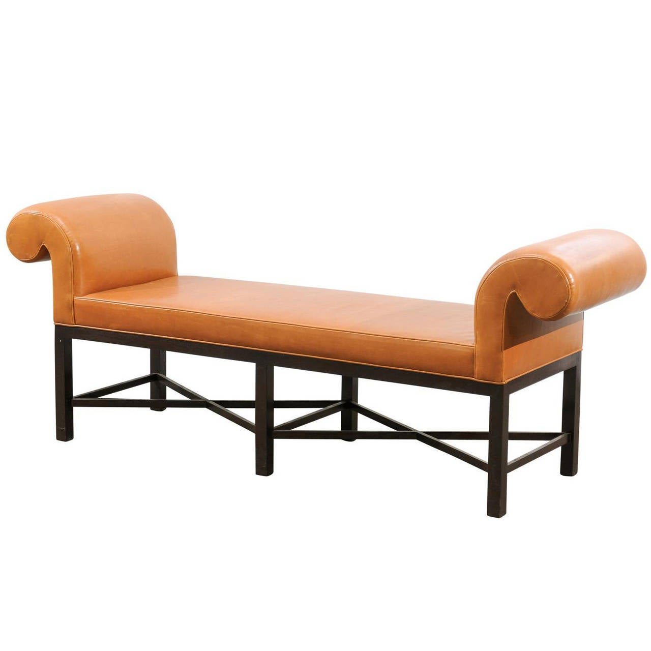 Vintage chppendale bench by baker furniture at 1stdibs for Baker furniture