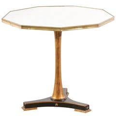 Marble-Top Pedestal Table by Palladio