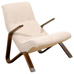 Beautiful Early Grasshopper Chair by Eero Saarien for Knoll