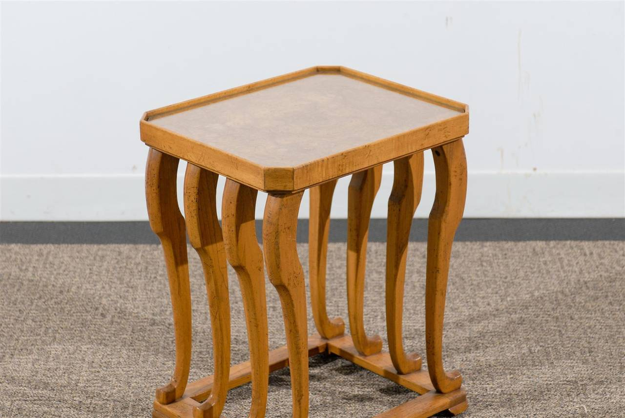vintage side table made by baker furniture at 1stdibs