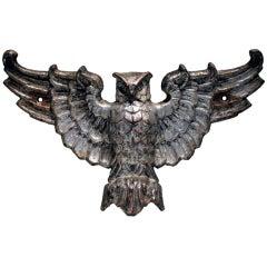 Cast Iron Owl, Late 19th Century