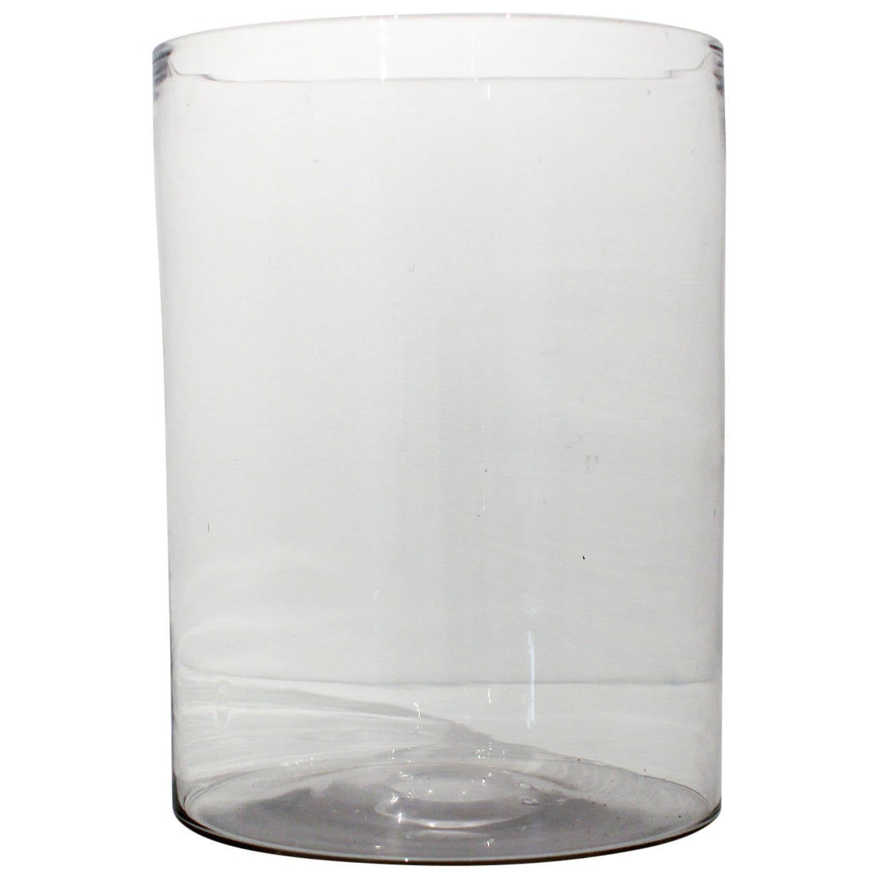 Th Century Blue White Aventurine Glass Bowl