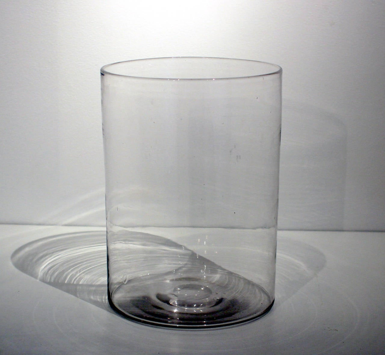 Large Glass Vessel : Fine and Large Blown Glass Vessel, Mid-19th Century For Sale at ...